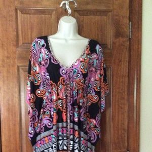 Kenneth Cole Bathing Suit Cover-Up sz S